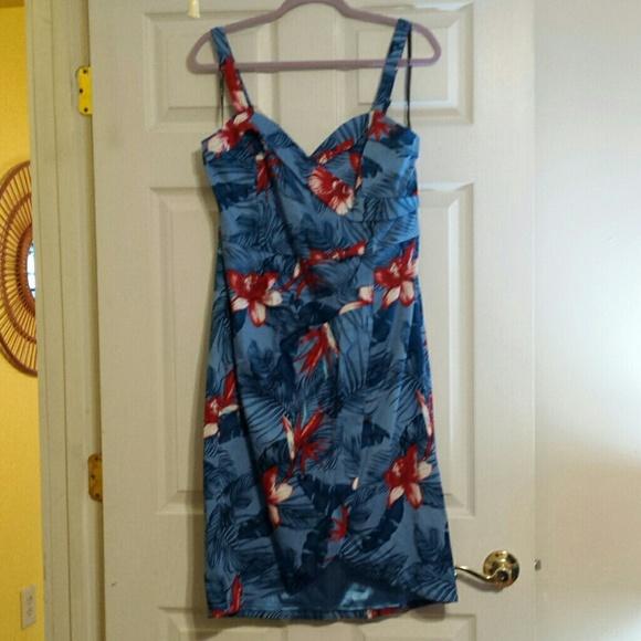 cb59e7e3e470d City Chic Dresses & Skirts - City Chic Hawaiian Dress Size 16 NWOT